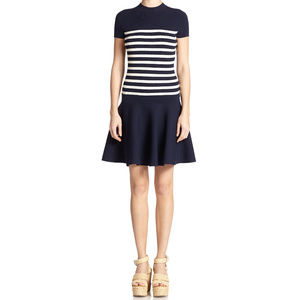 Polo Ralph Lauren Knit Striped Sweater Dress M